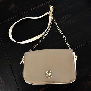 Tory Burch color block adjustable chain mini bag